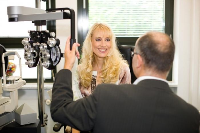 Werbung für Optiker