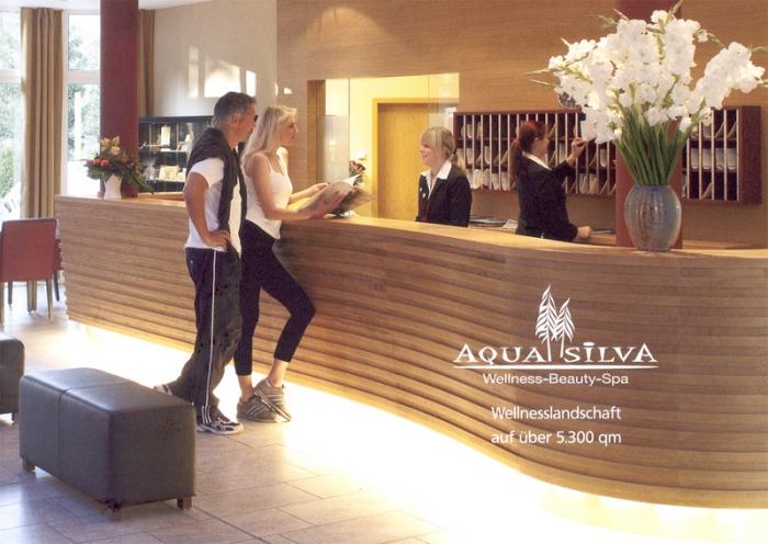 Tannenhäuschen - Werbung für das Hotel