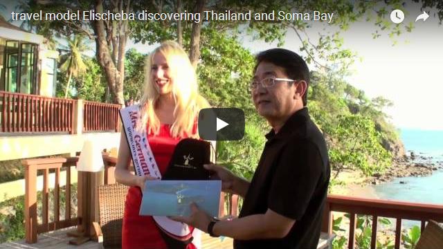 Reisemodel Elischeba in Thailand und SomaBay