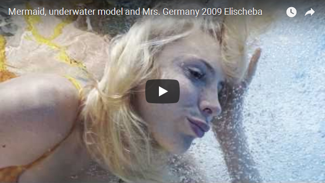 Mermaid UnterwassermodelMrs Germany 2009 Elischeba Wilde