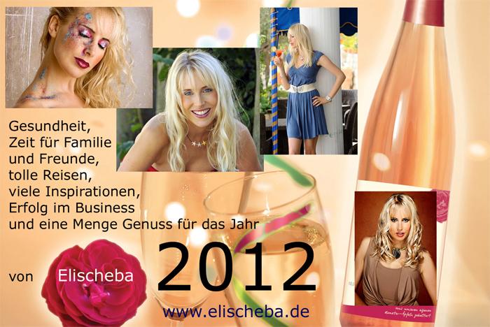 Happy 2012 von der ehemaligen Mrs. Germany