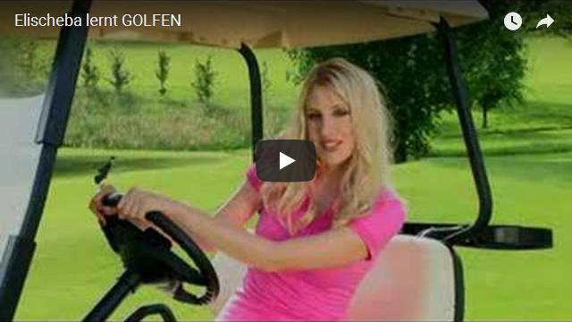 Elischeba lernt Golfen