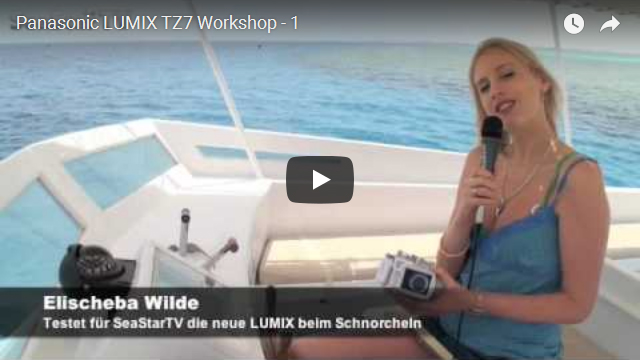 Elischeba beim Panasonic LUMIX TZ7 Workshop