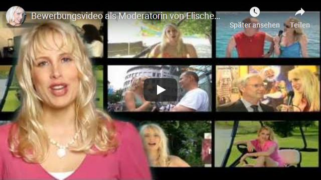 Bewerbungsvideo als Moderatorin von Elischeba Wilde