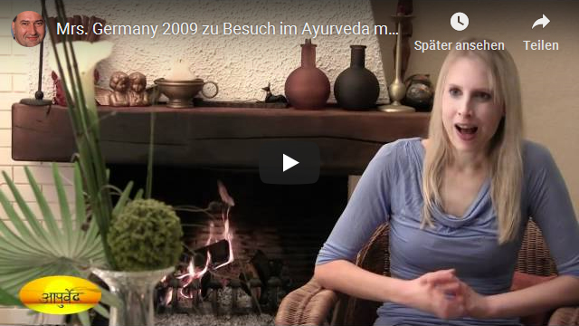 Mrs Germany 2009 zu Besuch im Ayurveda Hotel in Nierstein