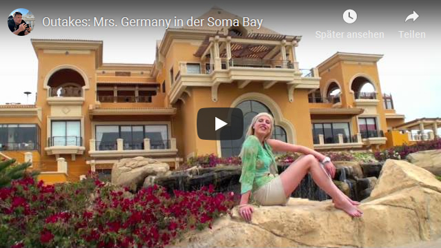 Outtakes Mrs Germany in der SomaBay