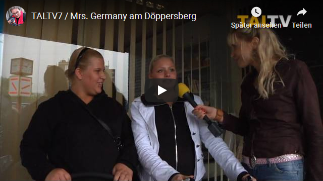 Elischeba Wilde interviewt Passanten am Döppersberg